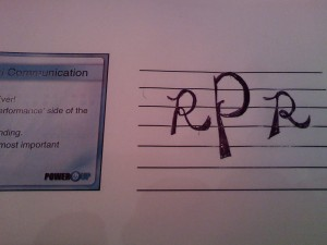 my monogram with Robert Pattinson