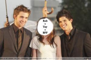 Rob+Tay=BFF