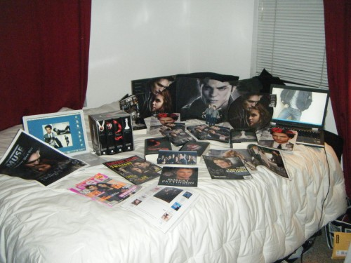 We have a little bit of Twilight related stuff