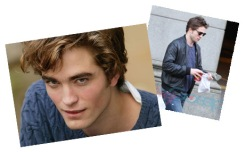 Rob Pattinson Blue Sweater