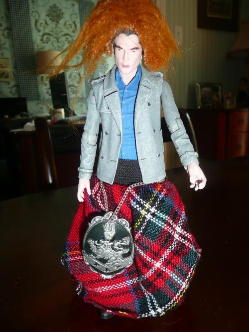 Next up- Scotland! Do I look rediculous?