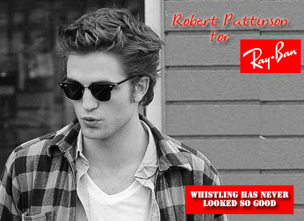 robert pattinson ray bans. THE RAY BANS. sigh!