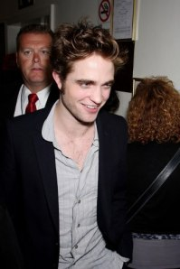 Hey guys, just me Rob Pattinson... no I'm not a waiter but I can get your a drink...
