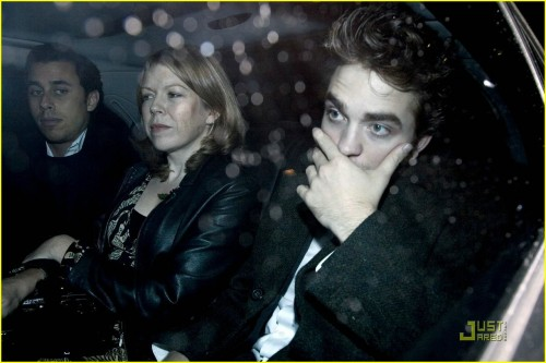 Rob Pattinson and a Cougar