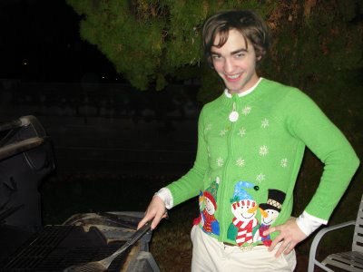 Robert Pattinson Christmas on Twas The Night Before Christmas    With Rob    Letters To Rob