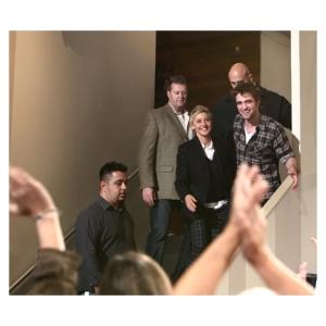Rob at Ellen Show 2009
